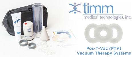 Timm Medical Pos-T-Vac (PVT) Pumps and Tension Rings