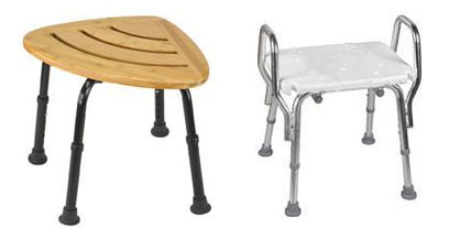 Bathroom Safety Stools without Backrest