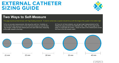 how long is a male catheter